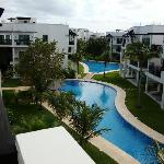 Azul Fives pool view