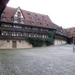 Dei alte Hofhaltung-Innenhof