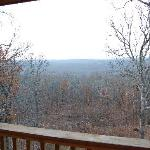 View from cabin 1
