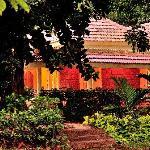 our villa at dawn