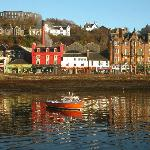 Oban Harbour,reflections