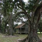 view of one of the slave quarters