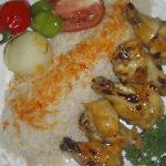 Pollo Kebab con Hueso