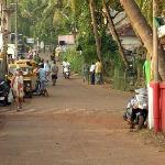 main street Agonda beach, Goa