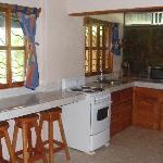 Villa 1 - Kitchen Area
