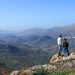Hiking through the olive groves and up to medieval Moorish watchtowers