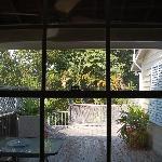 Aussicht aus unserem Zimmer