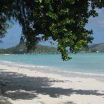 la spiaggia davanti alla camera