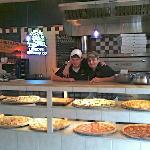 The Pizza Counter at Mama Nina's Pizzeria