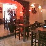 The Dining Room at Mama Nina's Pizzeria