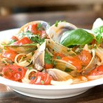 Our very popular Linguine with Clams