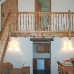 Gallery Landing in The Stone Barn (Cottage 3)