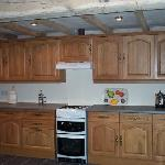 Large beamed kitchens
