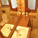 Exquisitely appointed bathrooms