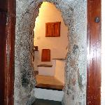 Entry to bathroom