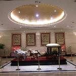 Lobby with the horse cart