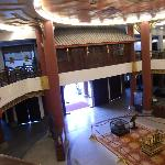 Lobby view from upper floor