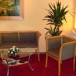 Parkhotel Helene in Bad Elster - Foyer mit Sitzgruppe