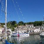 The harbour on a summers day