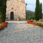 Entrance Villa San Crispolto