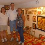 Barbara & Staily Minks at Selaron Studio