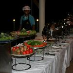 Our private buffet :-)