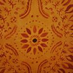 Glimpse of the artwork which decorates the walls in the Basmati Resturant