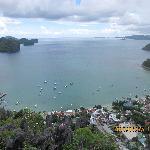 El Nido, Palawan, Philippines - Downtown Top View