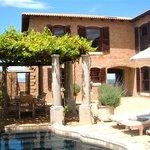 Auberge Provence Pool Area
