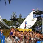 Une des supers attractions aquatiques du parc