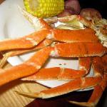Crab legs!