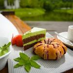 enjoy the home made after tea after a walk in the peaceful surrounding landscape