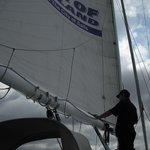 setting the sail