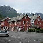 Tourist Center across the street from the Hardanger Hotel