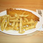 Standard Fish and Chips Plate