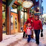 Family Shopping in Breckenridge