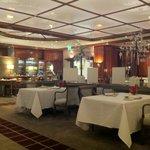 Der behutsam renovierte Gastraum