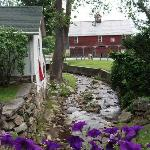 The Babbling Brook Next to the Inn