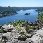vista panoramica sul lago d'orta