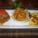Appetiser tasting menu