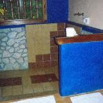 newly tiled bathroom...beautiful