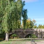el puente romano y la chopera