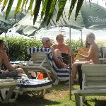 Beach side in Resort