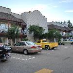 Teil der Hotelanlage