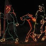 Light Display at Arasapha Farms