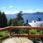 Vista desde Hab. Llao Llao al Lago Nahuel Huapi