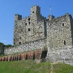 View of the Castle Walls & Keep