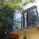 The Romeo & Juliet Suite balcony