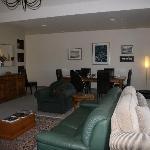 The lounge at Matuka Lodge