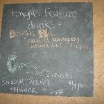 JUMPS famous chalkboard specials